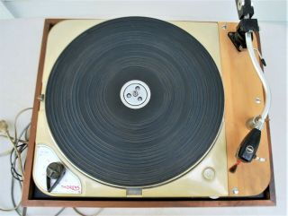 Vintage Thorens Td 124 Turntable All All Functions As Designed