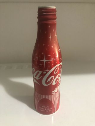 Coca Cola Bottle Aluminum Very Rare 2015 From Brazil Never Released