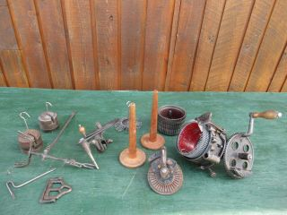Antique Legare 400 Auto Csm Knitter Machine 2 Cylinder 54 80,  Ribber 36