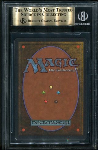 Mox Jet Unlimited BGS 9.  5 Gem MTG PSA Magic the gathering 2