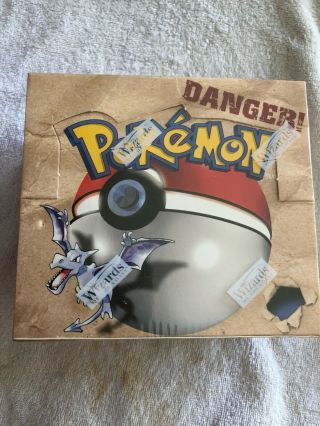 1999 Fossil Pokemon Booster Box,  Rare Factory