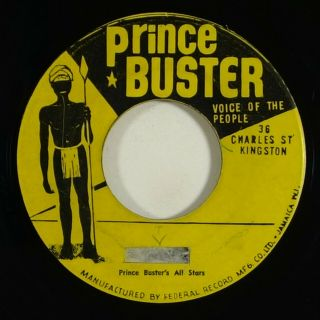 "Prince Buster/movers "" Linger On "" Ultra Rare Reggae 45 Voice Of The People Mp3"