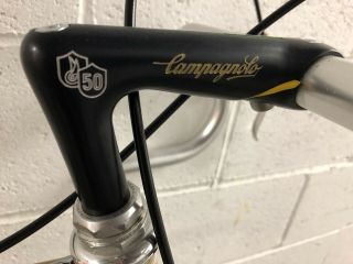 NOS Vintage Cinelli Speciale Corsa 57cm with Campagnolo 50th Anniversary Group 6