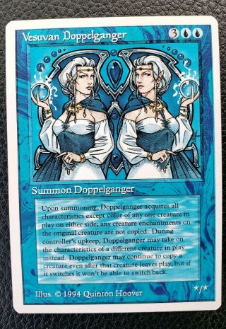 Vintage Magic | Mtg Summer Magic Vesuvan Doppelganger,