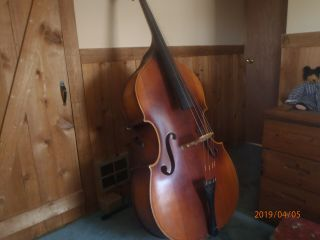 Kay,  Vintage 1943 Registered (10199),  Upright Bass Viol