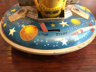 ASC Flying Space Saucer RARE Tin Toy 6