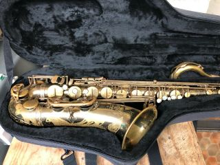 1976 Vintage Selmer Mark Vii Tenor Saxophone Sax - Action 80 Neck - France