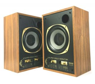 Vintage Tannoy Sgm 10b Gold Reference Studio Monitors Pair Look