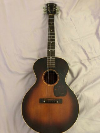 Vintage Gibson Acoustic Small Guitar 1954