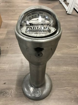 Duncan Automaton Rare Dome Penny Parking Meter - Functional 1930's Art Deco