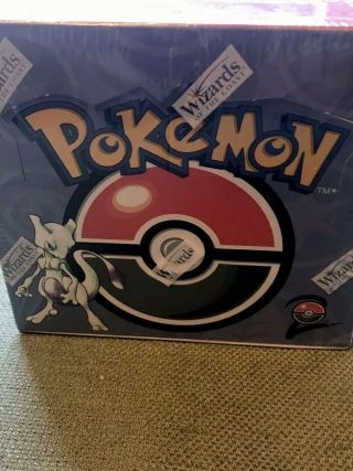 Pokemon Base Set 2 Booster Box 11x36 Factory Rare,  Wizard Of The Coast