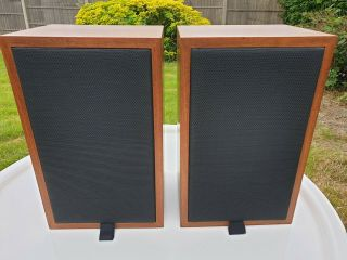 Ram Ls3/5a Speakers Ultra Rare V.  V.  15 Ohm Matched Pair