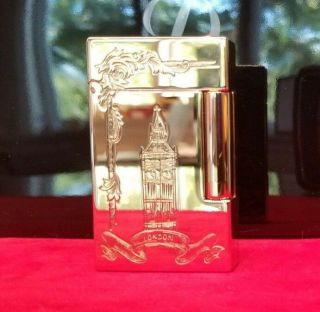 Rare Limited Edition S.  T.  Dupont London Ligne 2 Lighter In Yellow Gold 4/8