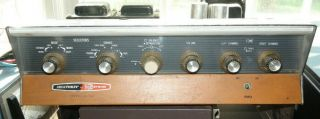 Vintage Heathkit Model Aa - 100 Integrated Stereo Amplifier