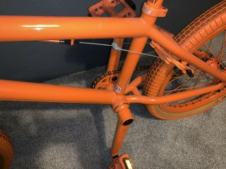 2012 Sunday Aaron Ross Orange Soda Bonus Bike Minty Rare Bmx 3