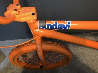 2012 Sunday Aaron Ross Orange Soda Bonus Bike Minty Rare Bmx 4