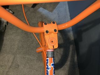 2012 Sunday Aaron Ross Orange Soda Bonus Bike Minty Rare Bmx 5