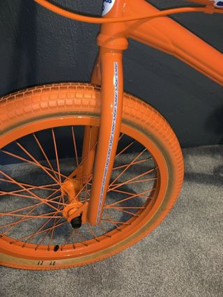 2012 Sunday Aaron Ross Orange Soda Bonus Bike Minty Rare Bmx 9