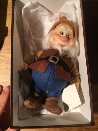 R.  John Wright Dolls Snow White And The Seven Dwarfs Rare 11