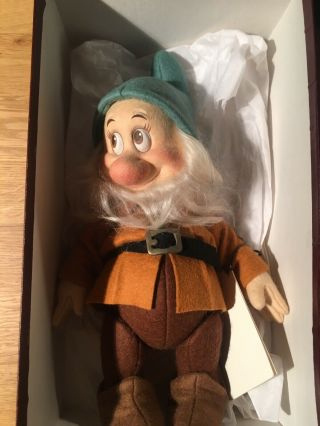 R.  John Wright Dolls Snow White And The Seven Dwarfs Rare 6
