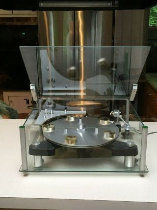 Transcriptors Skeleton Turntable Us - Rare And Sought After -