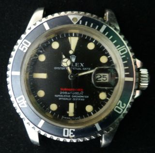 Vintage Rolex Submariner Automatic Men Watch Ref: 1680