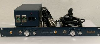 Vintage Brent Averill Neve 1272 Stereo Preamp With Psu