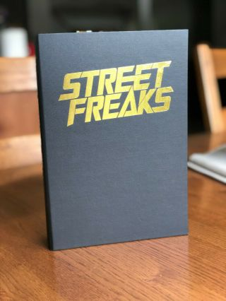 A Rare Leather - Bound Double - Signed Edition Of Street Freaks By Terry Brooks