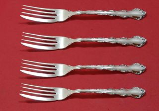 Tara By Reed And Barton Sterling Silver Fish Fork Set 4pc As Fh Custom 7 3/8 ""