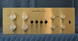 Vintage Marantz Model 7 Vacuum Tube Stereo Pre - Amplifier
