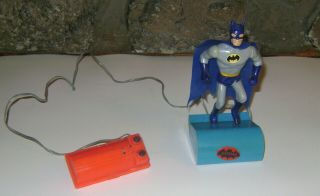 Vtg Very Rare Batman Ahi Azrak Hamway Intl 1974 Running Figure Battery Operated