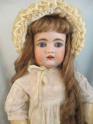 """Antique German Bisque K R 192 On Early Kestner Jointed Composition Body 24 """""""