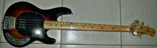 1983 Vintage Music Man Stingray Bass Guitar Leo Fender Era.