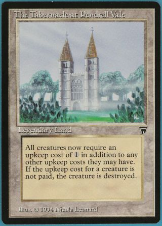 The Tabernacle At Pendrell Vale Legends Nm - M Rare Magic Card (32737) Abugames