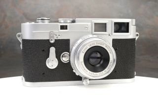 - Rare Leica M3 First Type Camera 700738 Body Only Lens Not Exc,