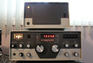 Cubic Astro 103 Transceiver Very Rare With Speaker Power Supply Swan