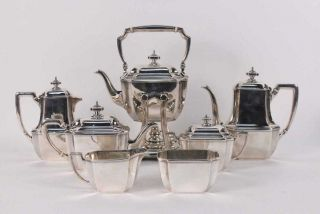 Tiffany And Co.  Sterling Silver Antique Tea Service