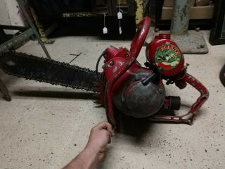 Strunk Most Cut Rare Vintage Chainsaw