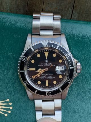 Vintage Rolex 1680 Submariner 1979/80 Wallet And Papers 4