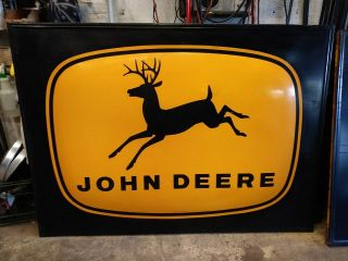 Vintage Large John Deere Metal Sign
