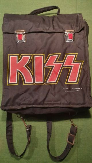 KISS VINTAGE AUSTRALIAN RELEASE 1980 AUCOIN BACKPACK ULTRA RARE 2