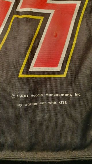 KISS VINTAGE AUSTRALIAN RELEASE 1980 AUCOIN BACKPACK ULTRA RARE 4