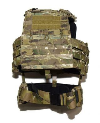 Rare Crye Precision Multicam Ncpc Cage Plate Carrier Cpc - Med - Devgru Seal Nsw