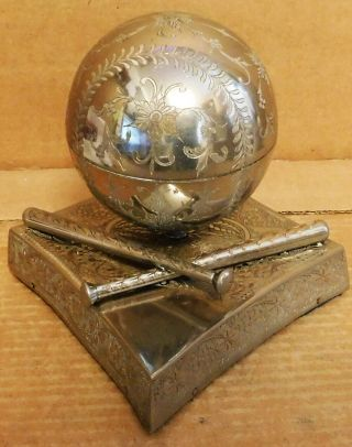 """Vtg Musical Fred Zimbalist Baseball """" Take Me Out To The Ballgame """" See Video"""