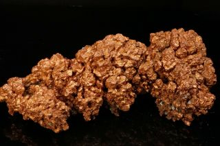 EXTRAORDINARY RARE Large Copper Crystal Cluster with Molybdenite OGONJA,  NAMIBIA 5