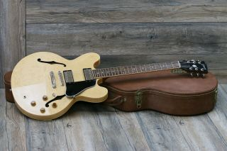 Minty 1999 Gibson Es - 335 Dot Reissue Vintage Natural Figured Maple,  Ohsc