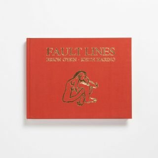 """Signed Keith Haring,  Brion Gysin """" Fault Lines """" 1st Rare Basquiat Andy Warhol"""
