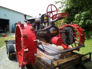 1930 Farmall Tractor Gorgeous Vintage Includes Front loader 3
