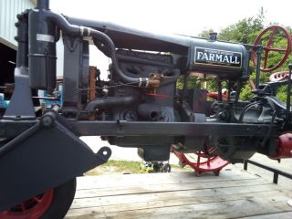 1930 Farmall Tractor Gorgeous Vintage Includes Front loader 6
