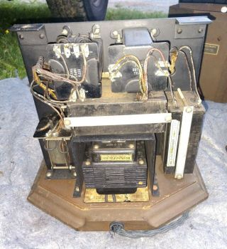 RARE MATCHING PAIR WESTERN ELECTRIC 25B AMPLIFIER USE 205D TUBE 42A,  46A 10